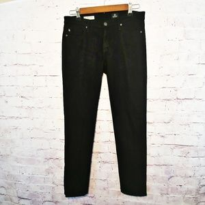 "AG Black ""the Stevie Ankle"" slim straight leg jean"